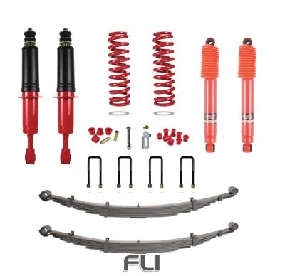 Pedders suspension kit Toyota Hilux Mk8 2015-On 4WD (lift +40mm) Heavy Duty PTO-408-81