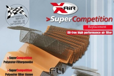 X-Air Sport Luchtfilter Super Competition SD-330418SC