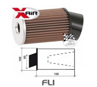 X-air Twin Cone Motorsport Luchtfilter SD-350050SC