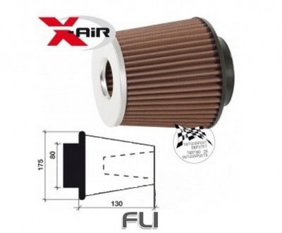 X-air Twin Cone Motorsport Luchtfilter SD-350053SC