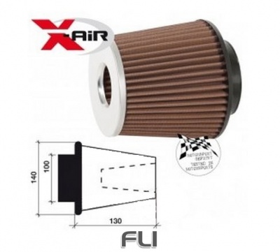 X-air Twin Cone Motorsport Luchtfilter SD-350054SC