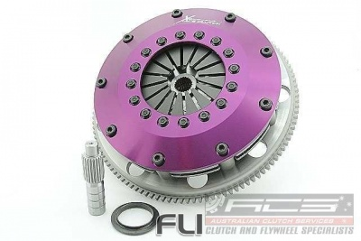 Xtreme Performance - 200mm Rigid Ceramic Twin Plate Clutch Kit Incl Flywheel