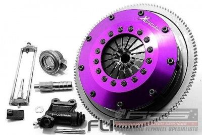 Xtreme Performance - KSU20521-2E - 200mm Rigid Ceramic Twin Plate Clutch Kit Incl Flywheel