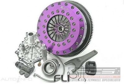Xtreme Performance - 230mm Carbon Blade Twin Plate Clutch Kit Incl Flywheel