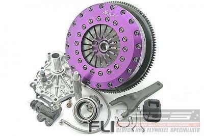 Xtreme Performance - 230mm Rigid Ceramic Twin Plate Clutch Kit Incl Flywheel