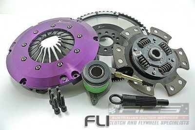 Xtreme Performance - Race Sprung Ceramic Clutch Kit Incl Flywheel