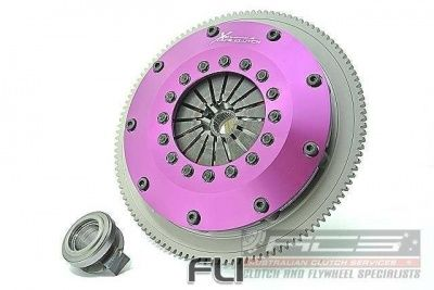 Xtreme Performance - Rigid Ceramic Single Plate Clutch Kit Incl Flywheel